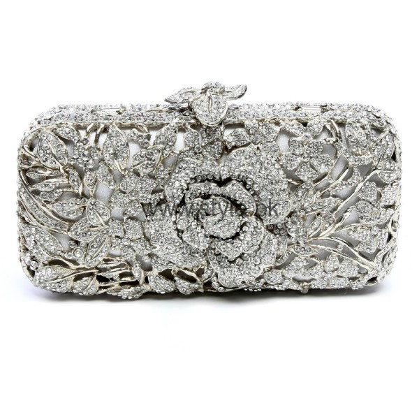 Latest Silver Bridal Clutches 2016 (5)