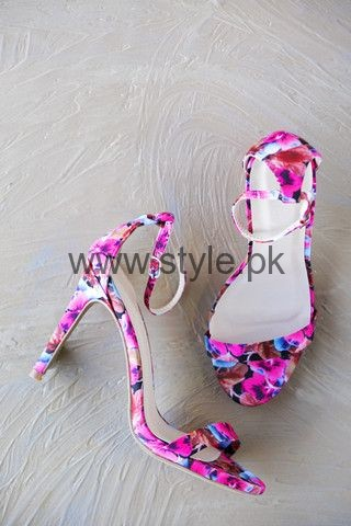 Latest Summers Floral Heels 2016 (16)