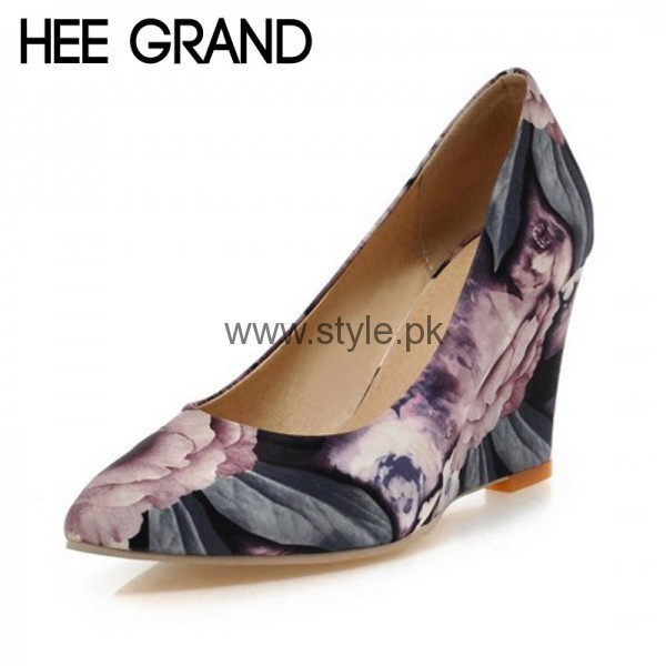 Latest Summers Floral Heels 2016 (5)