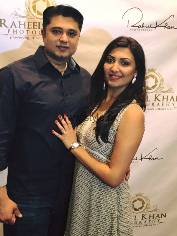 See Maheen Rizvi at a Recent Event with her Husband