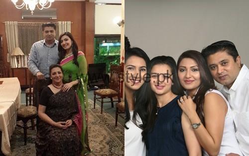 SeeMaheen Rizvi's family Pictures