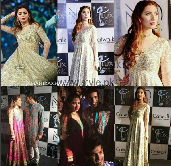 Mahira Khan's first ever Performance in any Awards Show (2)