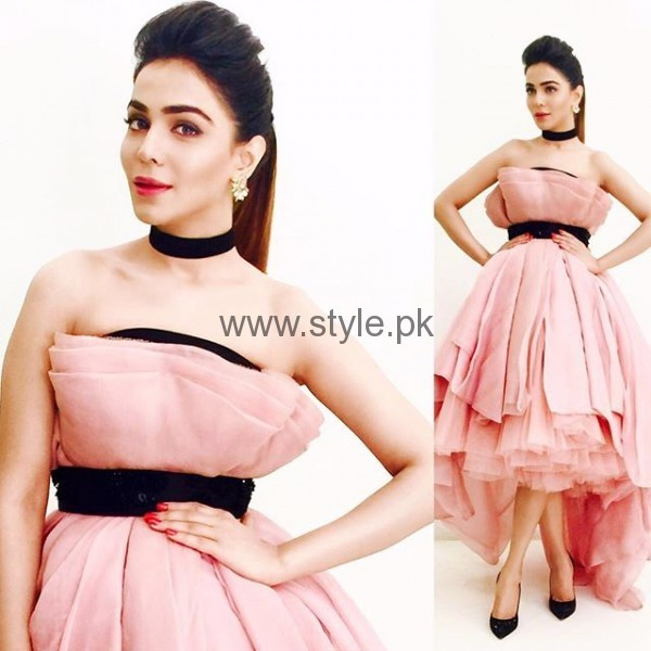 Makeup Ideas 2016 for Pink Dresses (2)