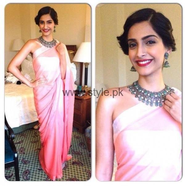 Makeup Ideas 2016 for Pink Dresses (3)