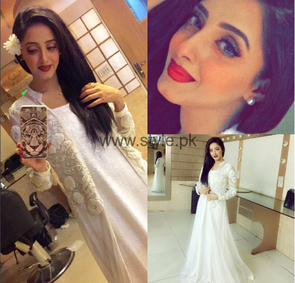 Makeup Ideas 2016 for White Dresses (1)