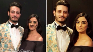 Maya Ali and Osman Khalid Butt Lux Awards