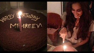 See Mehreen Syed celebrating her birthday
