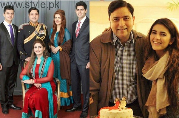 Momina Mustehsans Family Pictures