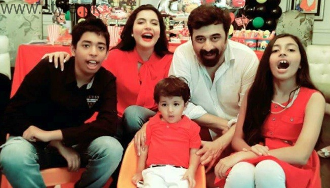 Nida Yasir Son Balaj Birthday 2016