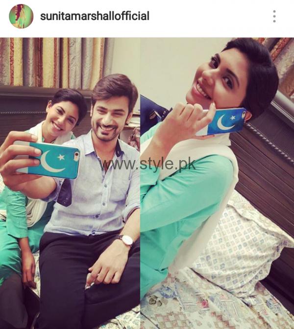 Pakistani Celebrities on Independence Day 2016 (1)