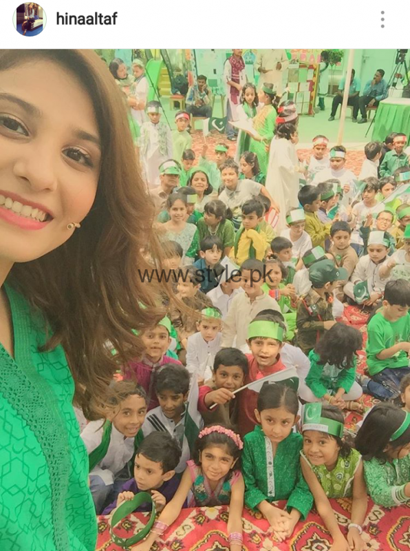 Pakistani Celebrities on Independence Day 2016 (11)