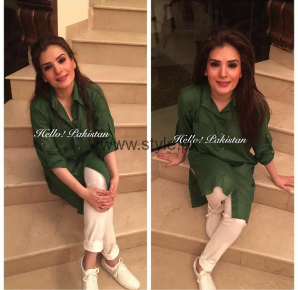Pakistani Celebrities on Independence Day 2016 (2)