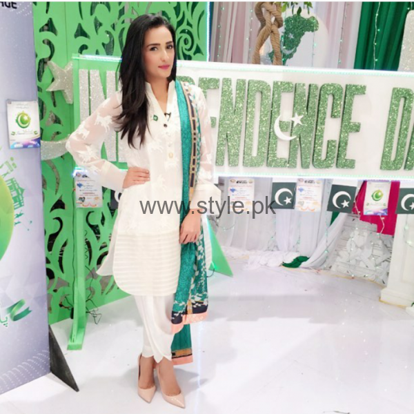 Pakistani Celebrities on Independence Day 2016 (2)