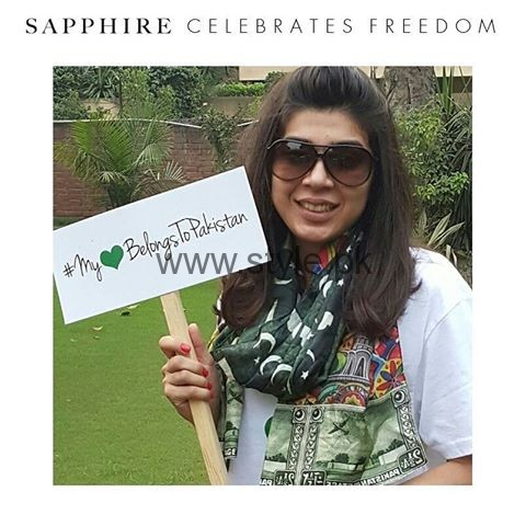 Pakistan's Independence Day Scarves 2016 (5)