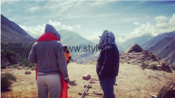Pictures from Pakistani Movie Balu Mahi (5)