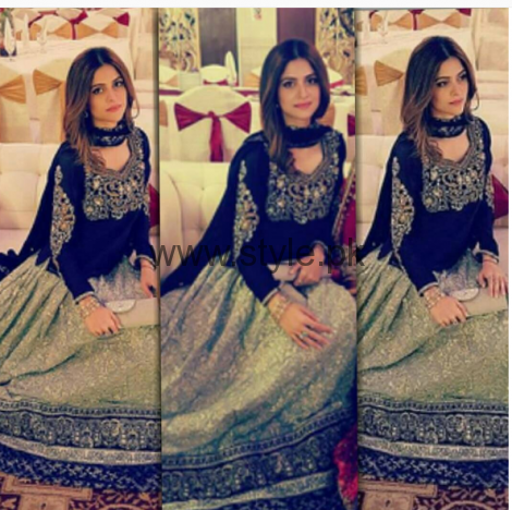 Pictures of Arij Fatyma at her Friend's Wedding (1)