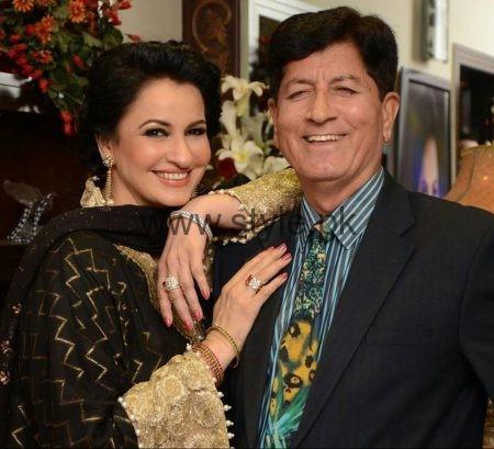 Saba Faisal With Her Husband