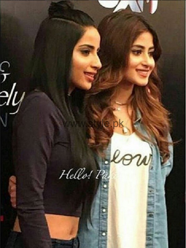 Sajal Ali and Saboor Ali At Actor In Law Music Launch