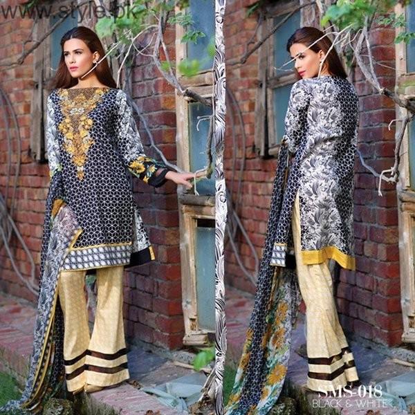 Sana & Samia Midsummer Dresses 2016 By Lala Textiles0012