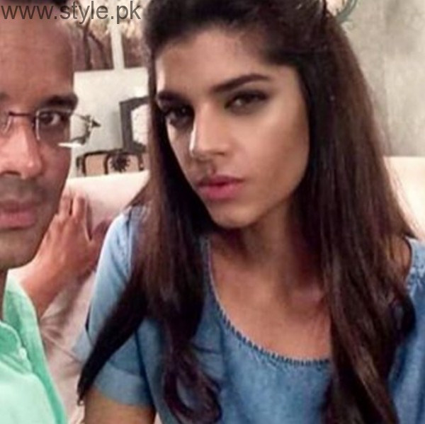 Sanam Saeed Makeup Artist