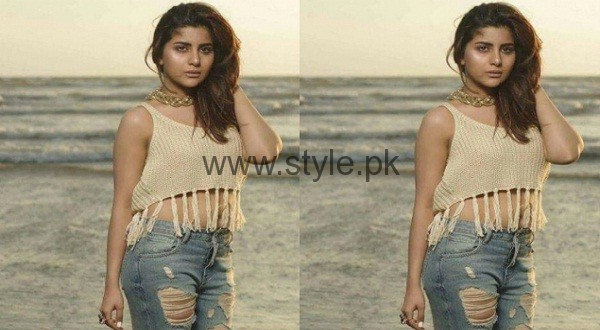 Sohai Ali Abro Beach Photoshoot Latest
