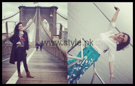 See Sumbal Iqbal's pictures from USA Tour