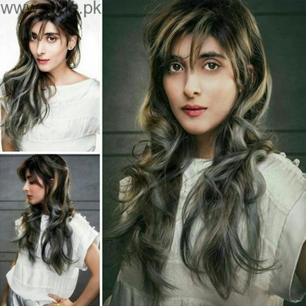 Urwa Hocane New Hair Style