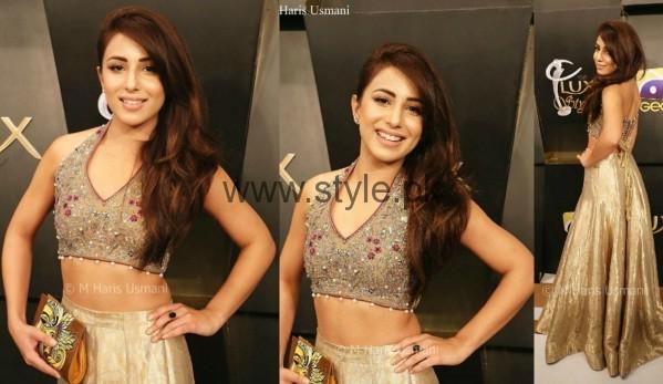 Ushna Shah Lux Style Awards 2016
