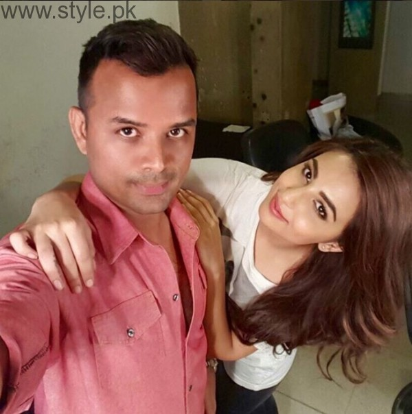 Ushna Shah Makeup Artist