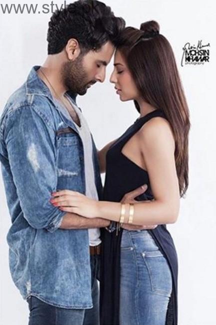 Ushna Shah Teri Meri Love Story Photoshoot
