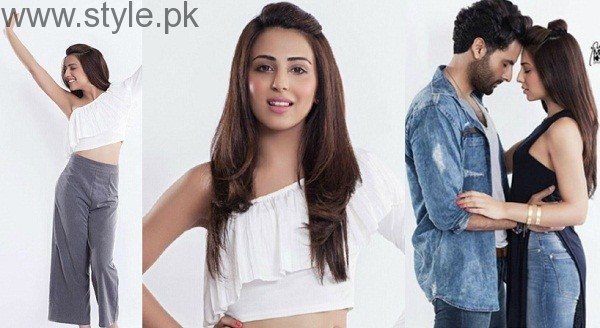 Ushna Shahs Hot Photoshoot Goes Viral StylePk