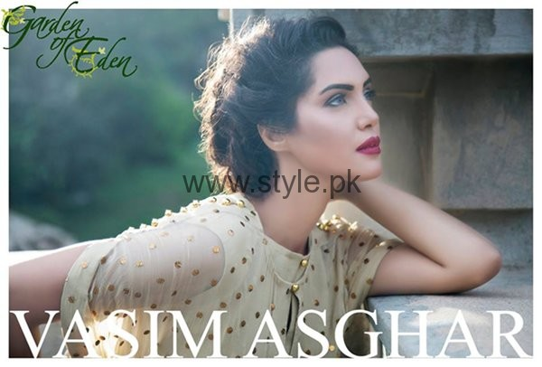 Vasim Asghar Formal Dresses 2016 For Women