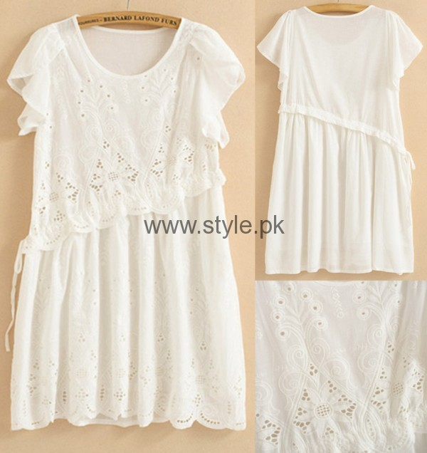 White Summers Tops for Women 2016 (12)