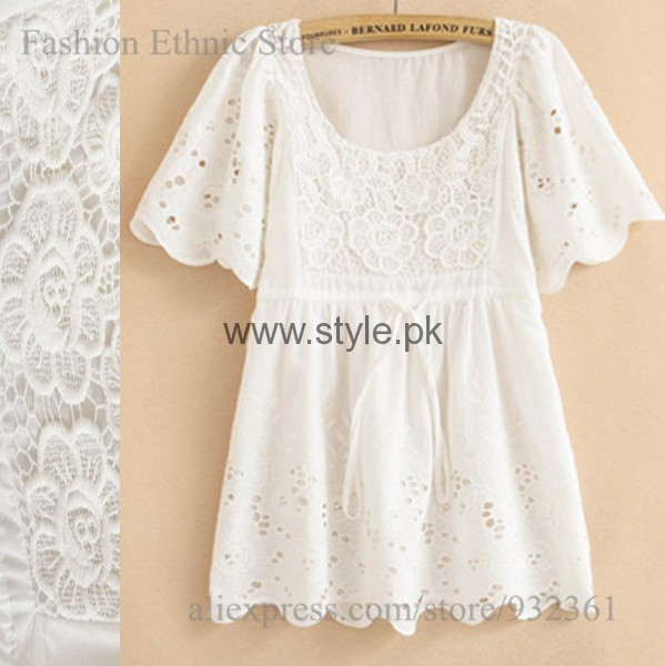 White Summers Tops for Women 2016 (13)
