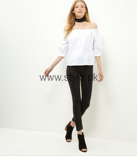 White Summers Tops for Women 2016 (15)