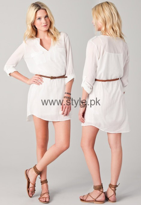 White Summers Tops for Women 2016 (5)