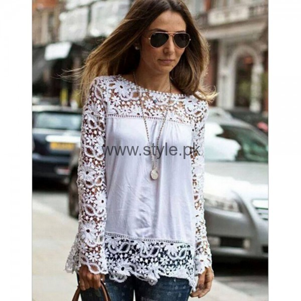 White Summers Tops for Women 2016 (8)