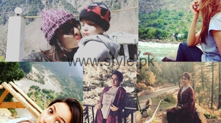 See Zarnish Khan's pictures from Kashmir Tour