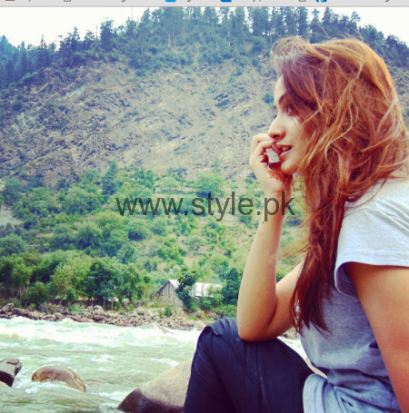 Zarnish Khan's pictures from Kashmir Tour (2)