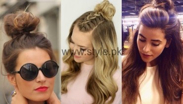 See Summer Top Knot Hairstyles Trend 2016