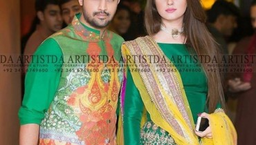 See Recent Picture of Atif Aslam with his wife