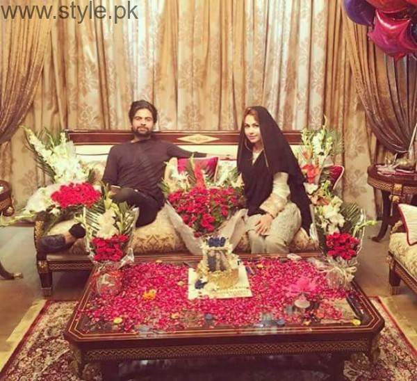 See Ahmed Shehzad Celebrated his First Wedding Anniversary