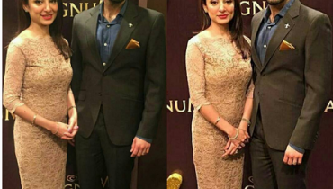 See Beautiful Clicks of Sarwat Gilani and Fahad Mirza at Magnum Party 2016