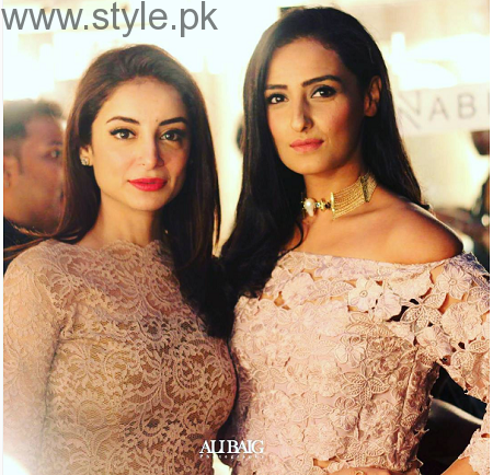 Beautiful Clicks of Sarwat Gilani and Fahad Mirza at Magnum Party 2016 (3)