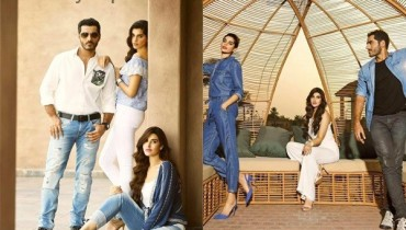 See Cast of Dobara Phir Se's photoshoot for PepeJeans
