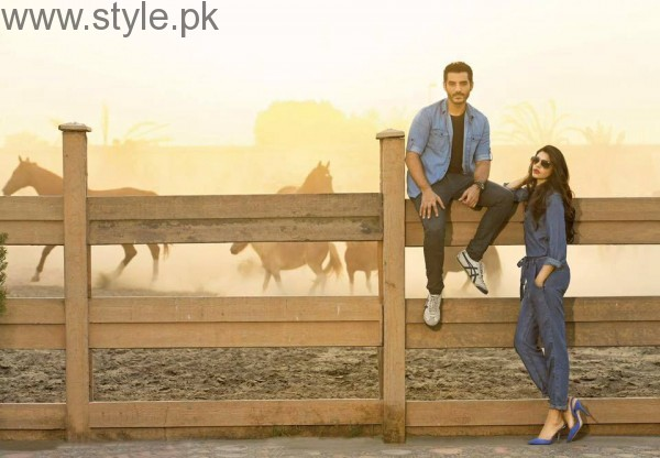 Cast of Dobara Phir Se's photoshoot for PepeJeans (6)