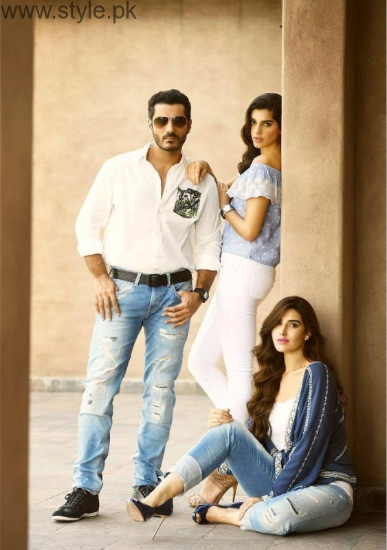 Cast of Dobara Phir Se's photoshoot for PepeJeans (7)
