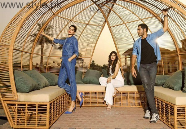 Cast of Dobara Phir Se's photoshoot for PepeJeans (9)