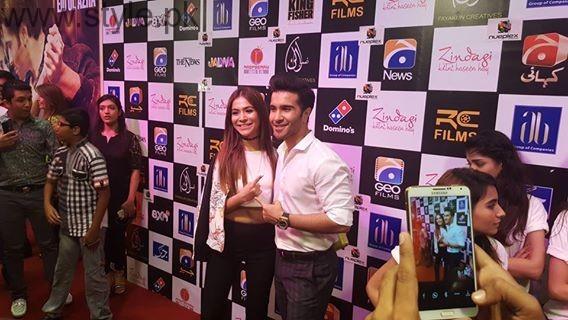 Celebrities at Premiere of Zindagi Kitni Haseen Hai (7)