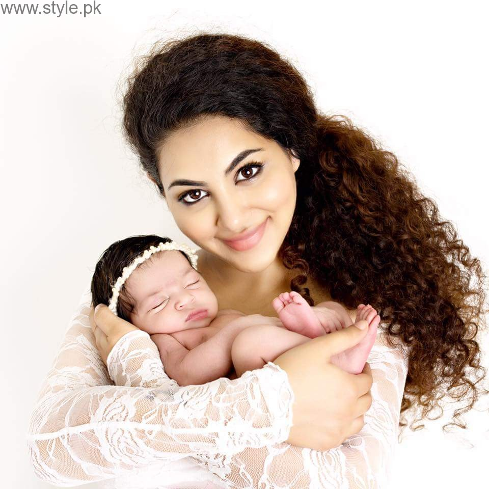See Annie Khalid with her daughter